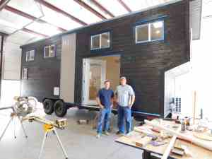 American Tiny House San Francisco - Exterior In Process
