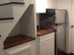 American Tiny House San Francisco K Cabinets 2nd Pic and Fridge