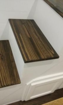 San Francisco American Tiny House Stair Treads
