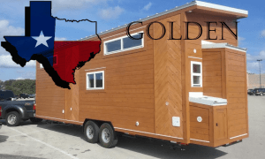 28 foot American Tiny House Golden Model Header