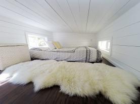 San Francisco bed in loft