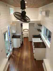 Houston Interior - American Tiny House to the Loft