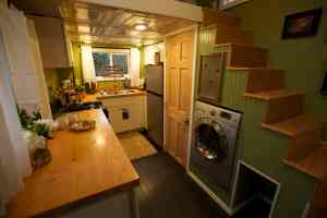 View Inside - Kitchen American Tiny House