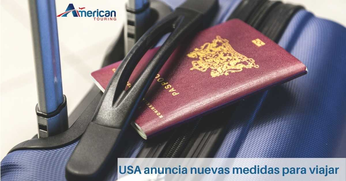 USA anuncia nuevas medidas para viajar