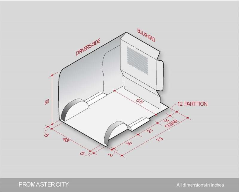 Ram Promaster City Interior Fit Guide