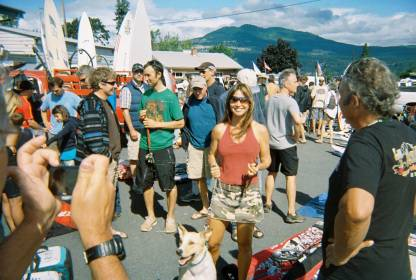 Windsports swap meet at Windance in Hood River