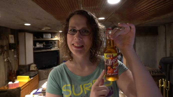 Melissa With Bacon Soda