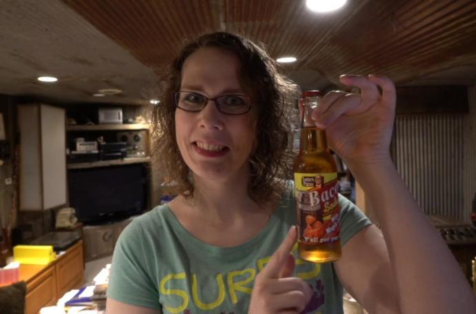 Melissa With Bacon Soda