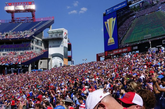 2017 Gold Cup Nashville Soccer Crowd