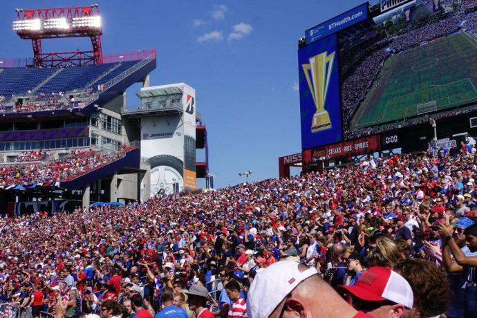 2017 Gold Cup Nashville Soccer Crowd