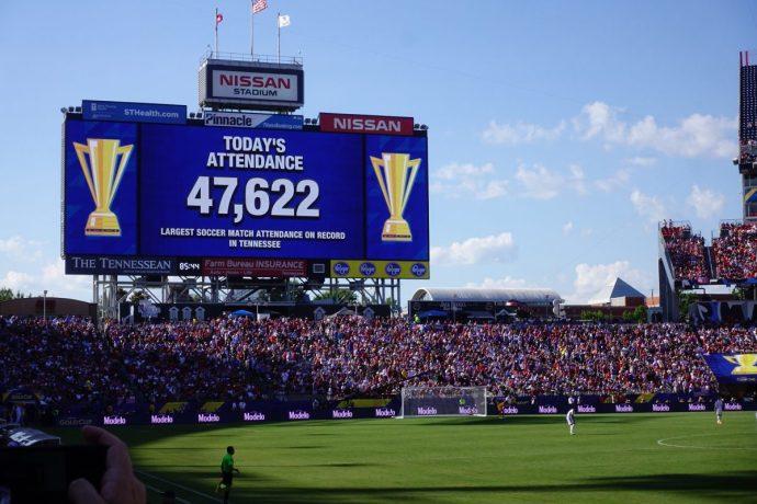 Gold Cup Nashville Soccer Attendance