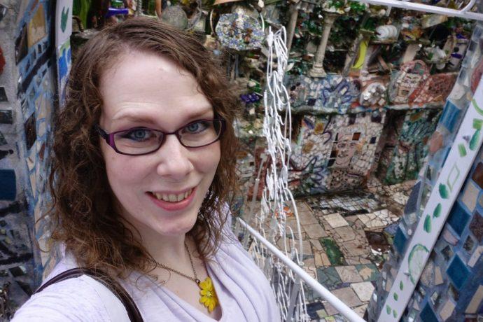 Philadelphia Magic Gardens Selfie 2