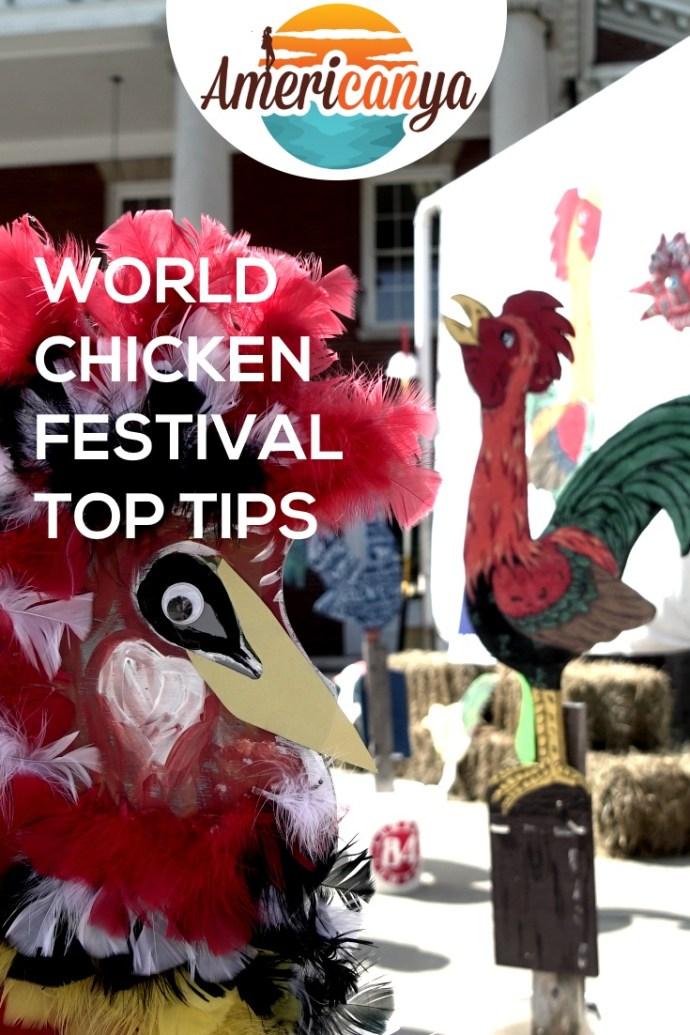 World Chicken Festival Pin