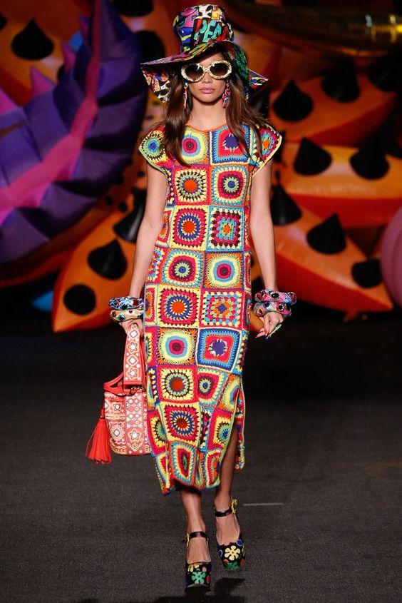 granny stitch crochet dress