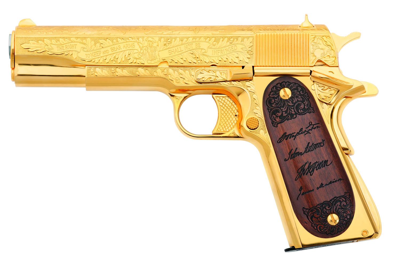 Colt Second Amendment Founding Fathers Tribute Pistol