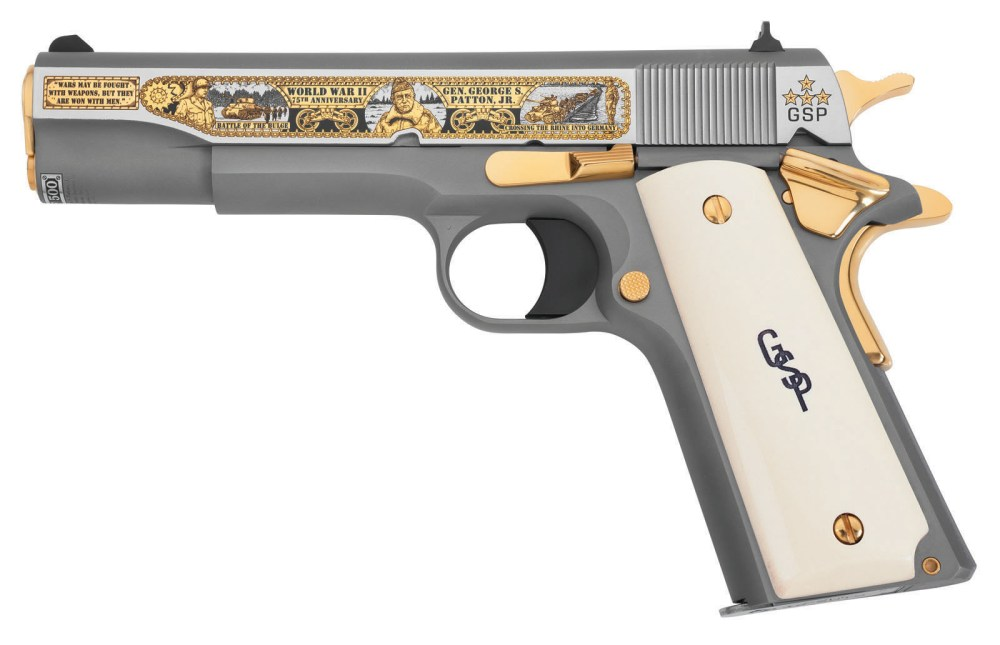 medium resolution of general george s patton jr wwii 75th anniversary tribute pistol