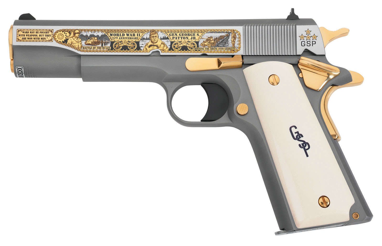 hight resolution of general george s patton jr wwii 75th anniversary tribute pistol