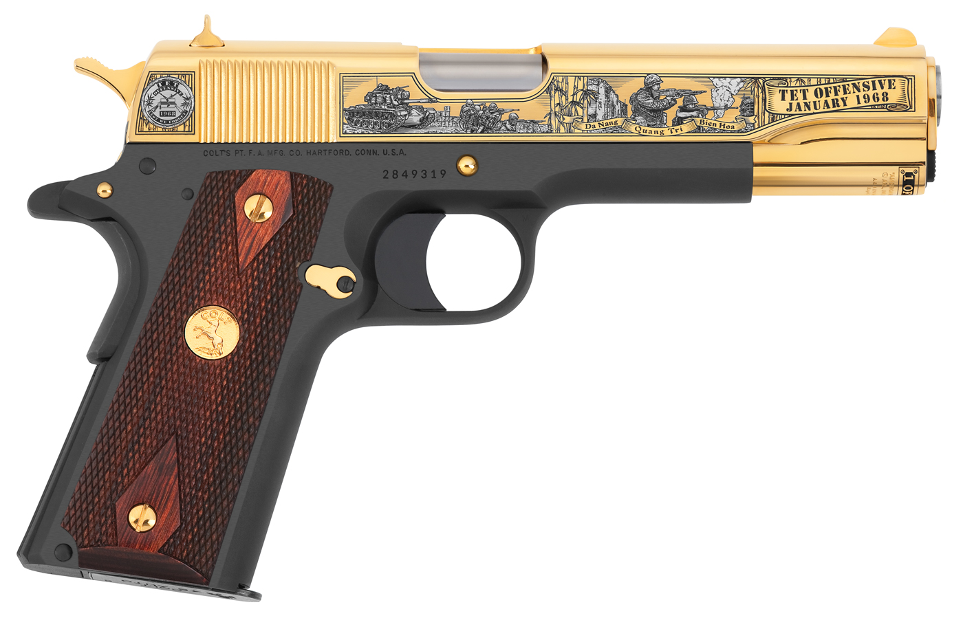 Tet 50th Anniversary Tribute Pistol