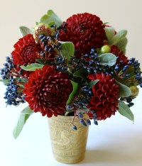 Red, White and Blue Flowers