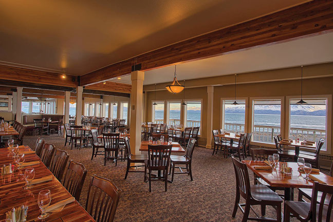 Chart Room Restaurant  Anchorage AK  Anchorage Restaurants  Anchorage Dining
