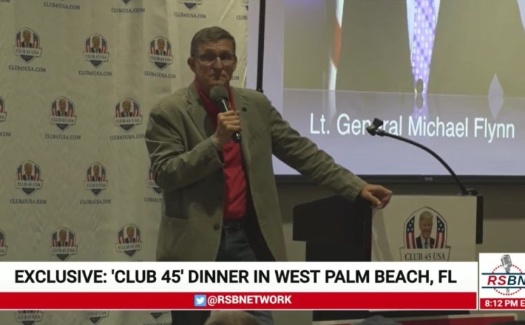 Club 45 Dinner with Keynote Speaker General Michael T. Flynn