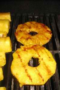 Pineapple on the Grill