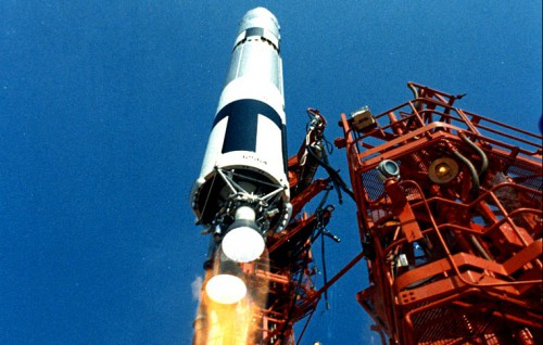 Gemini 9A launch Titan rocket Cape Canaveral NASA image posted on AmericaSpace