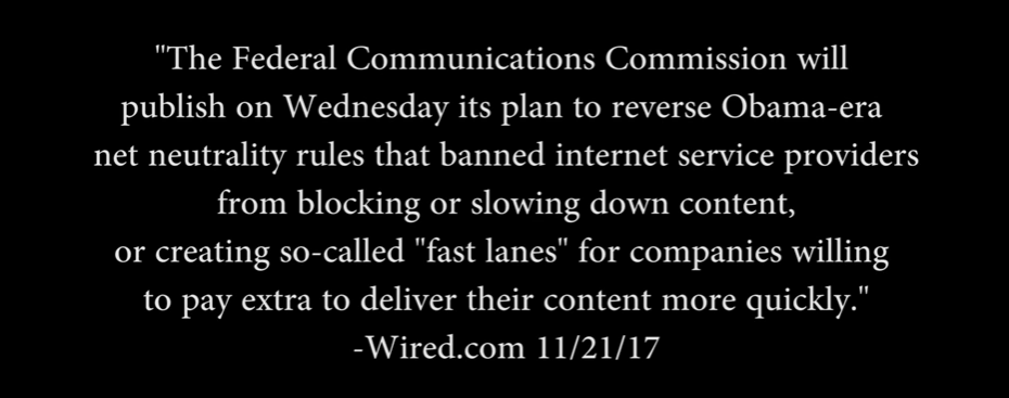 Net Neutrality… Again.