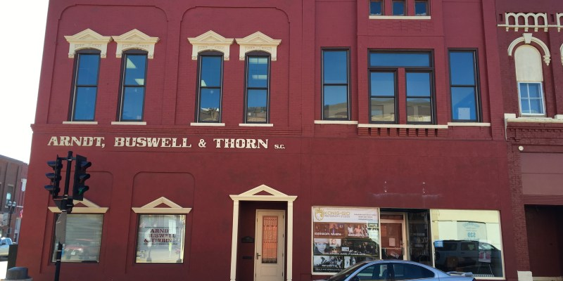 Arndt, Buswell, & Thorn Office Renovation in Sparta, WI built by Americon Construction Co