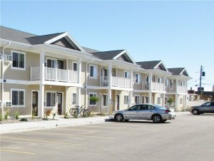 bluffview apartments construction by Americon Construction