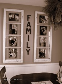Ideas Using Old Window Frames