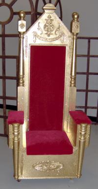 Santa Chair, Santa Throne - Theme Design, Props ...