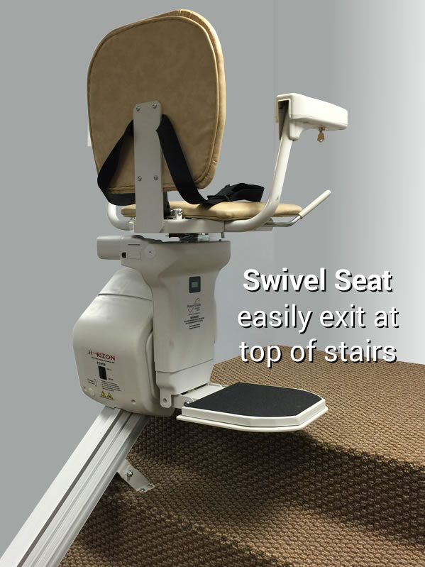 AmeriGlide Horizon Stair Lift  Nationwide Installation
