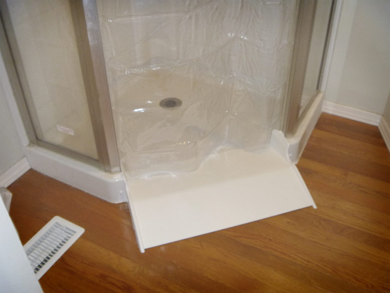 BarrierFree Shower Conversion Kit by AmeriGlide  Self