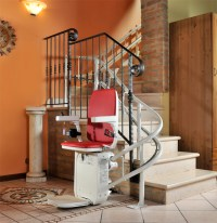AmeriGlide Platinum HD Stair Lift | Curved Stairlifts