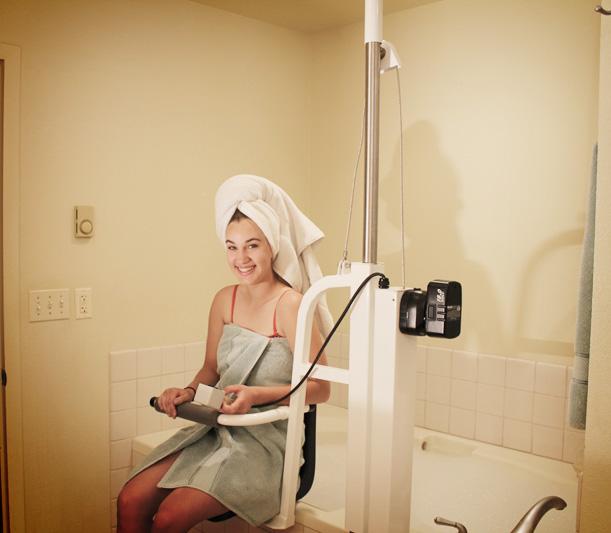 Bath Lifts AmeriGlide Luxury Bath Lift