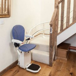 Stair Lift Chair Best Tailgate Chairs Ameriglide Platinum Curved Stairlifts