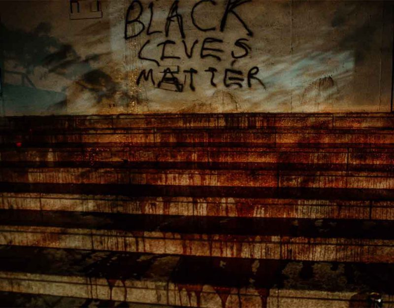 This image has an empty alt attribute; its file name is black_lives_matter_riots_matter-800x625.jpg