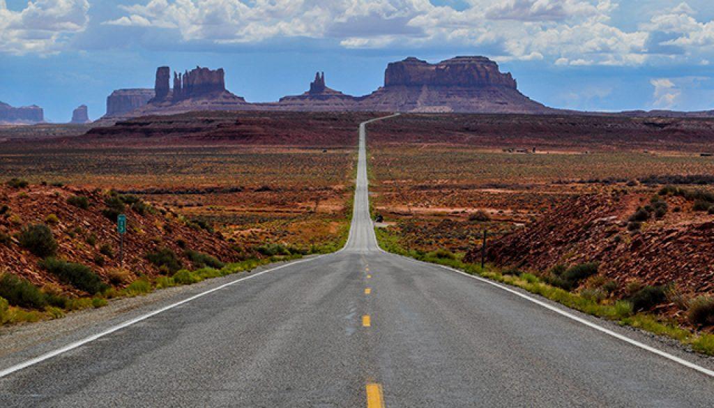 Slapen in Amerikas nationale parken f Monument Valley
