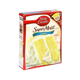 Betty Crocker Super Moist Lemon Cake Mix