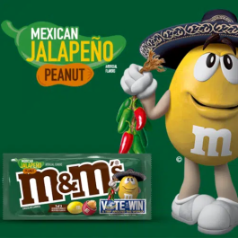 M&M's Mexican Jalapeño – LIMITED EDITION