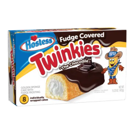 Fudge Covered Twinkies