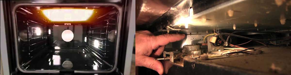 dacor oven common causes for not heating
