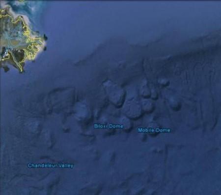 Une des zones de prospection pétrolifère