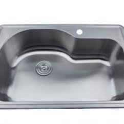 33 X 22 Kitchen Sink Personalized Items As142 9 18g Single Bowl Topmount Economy Stainless Steel