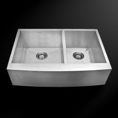 Stainless Steel Kitchen Sinks 33 X 22 Counter Top Table Sets As323 Quot 25 10 18g Double Bowl Apron Legend