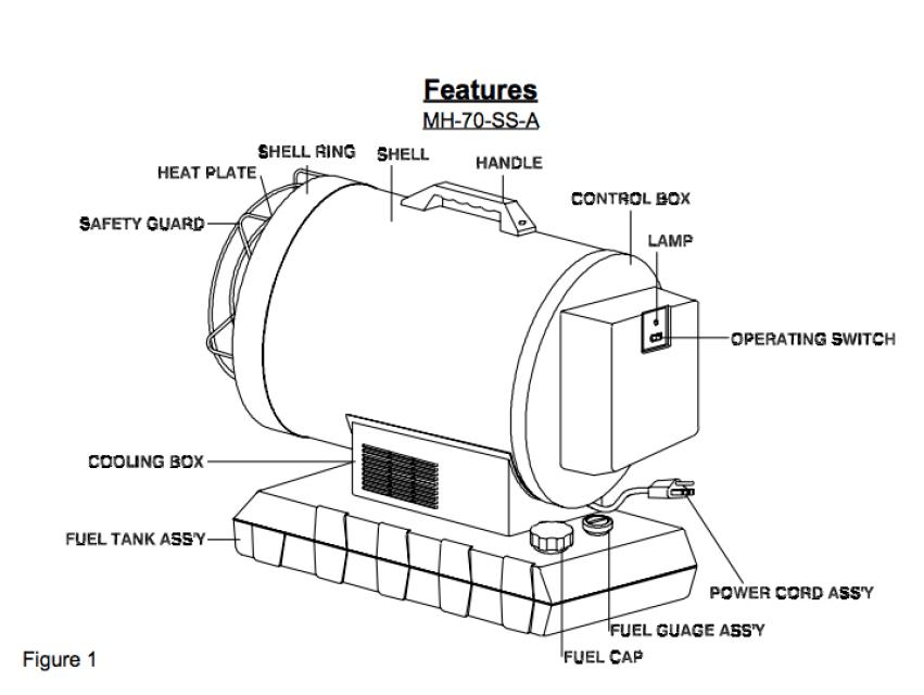 MASTER Silent Drive MH-70-SS 70,000 BTU Portable Radiant