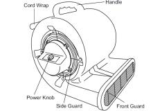 Master MAC-701-DR Industrial Fan Blower/ Dryer 2,200 CFM