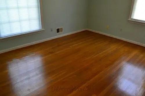 Restoring hardwood floors under carpet  without