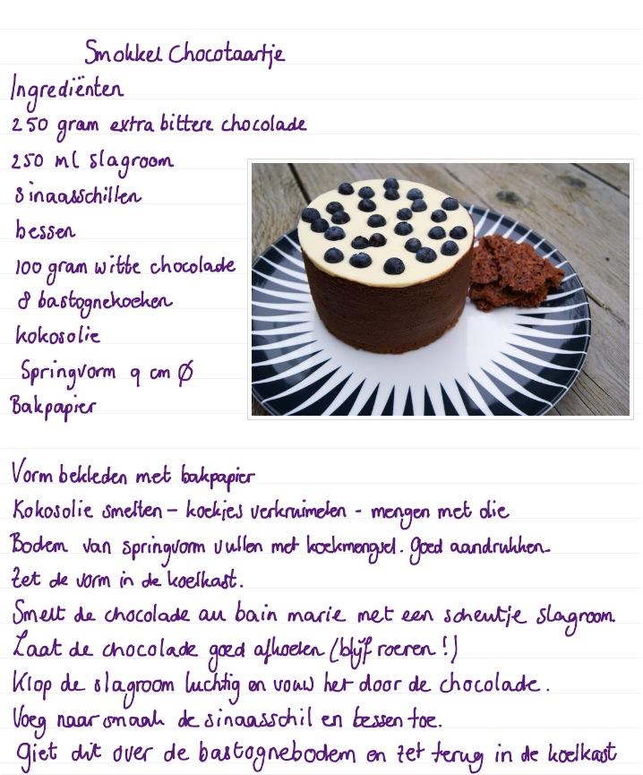 Chocolademoussetaartje